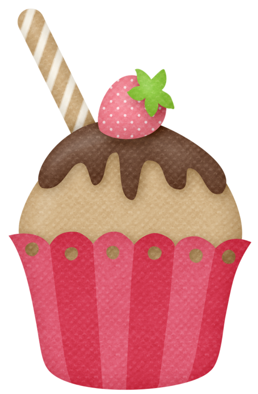 Lliella strawberrykisses cupcake pinterest. Strawberries clipart 3d png