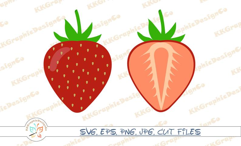 Svg cut file png. Strawberries clipart 4 strawberry
