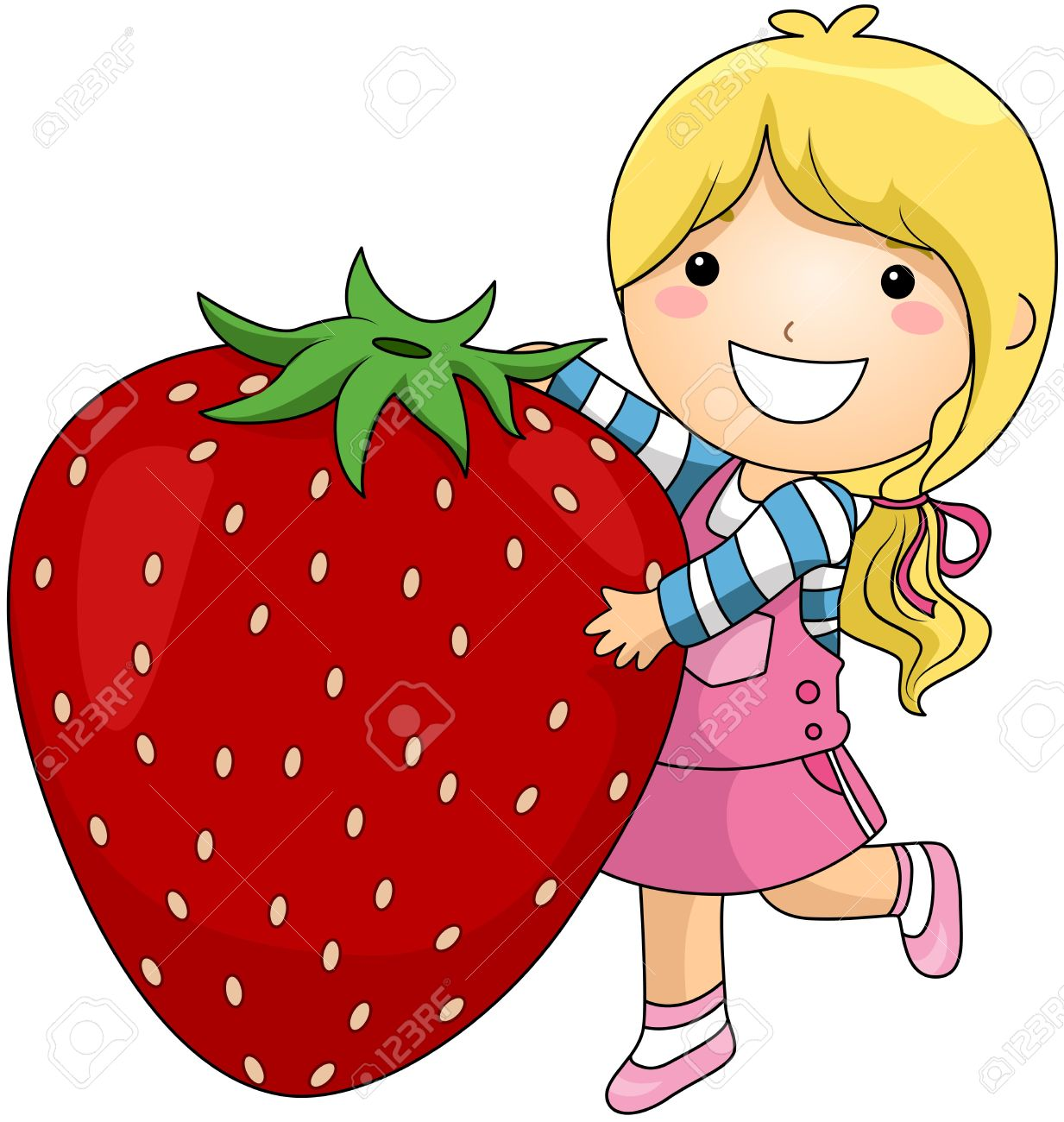Strawberries clipart 4 strawberry. Free download best