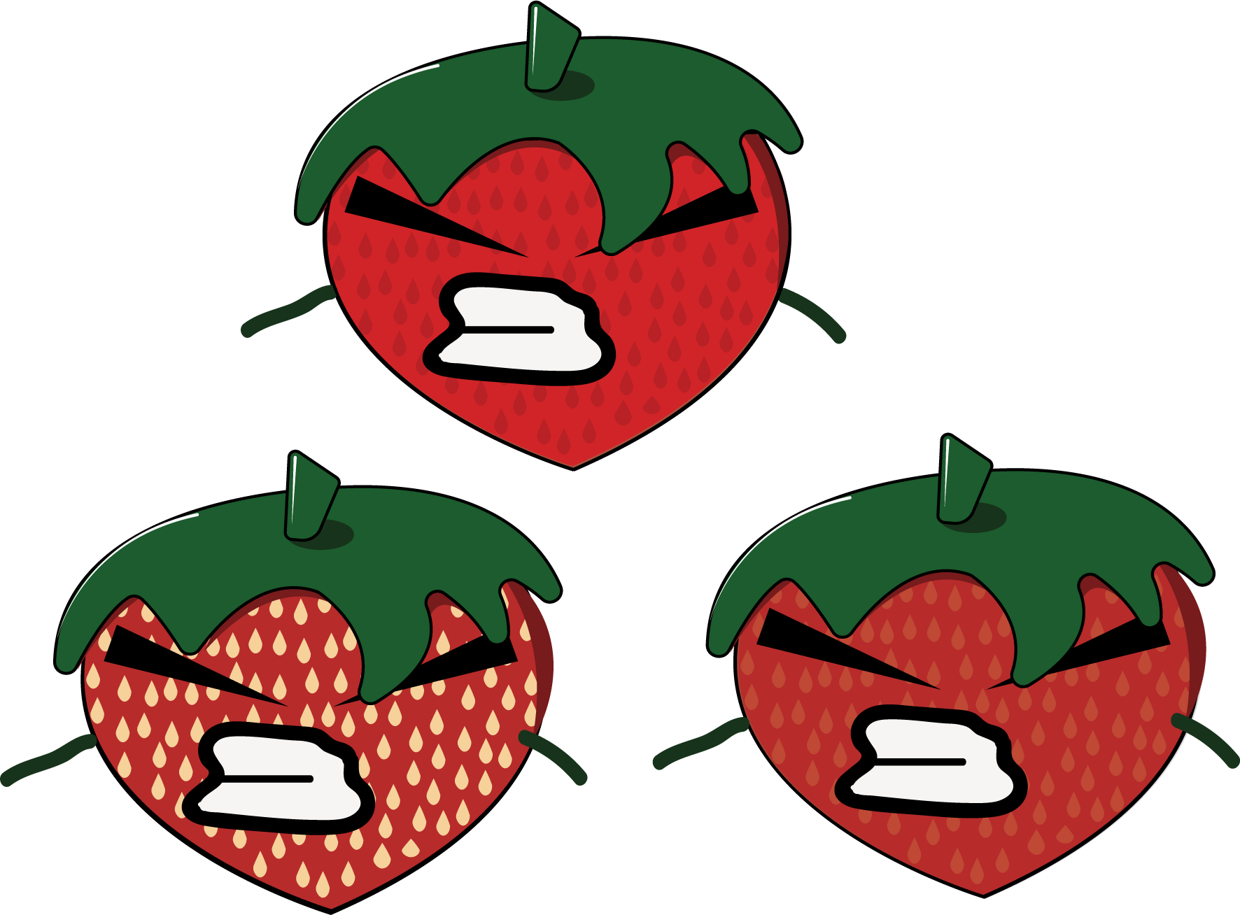 Strawberries clipart angry. Kelly gomez that s