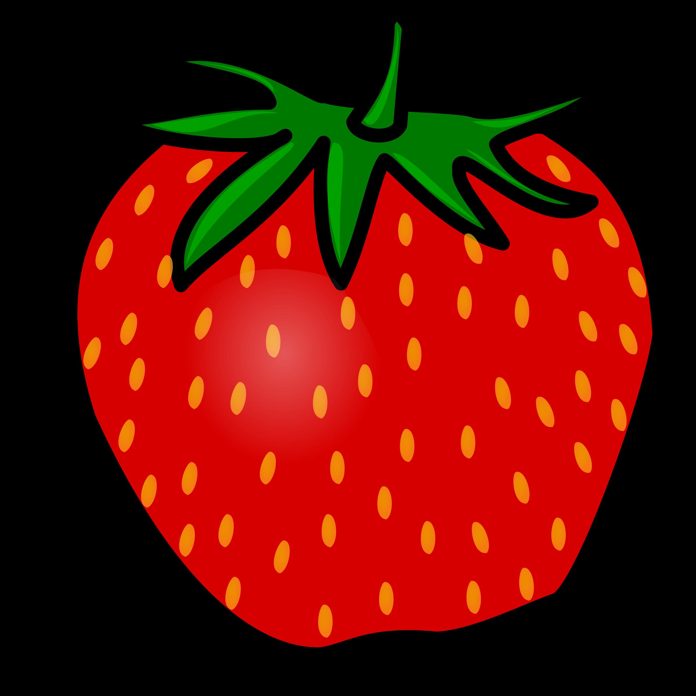 Strawberry panda free images. Strawberries clipart animasi