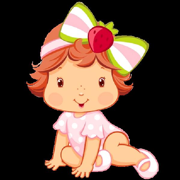 Strawberry shortcake clip art. Strawberries clipart baby