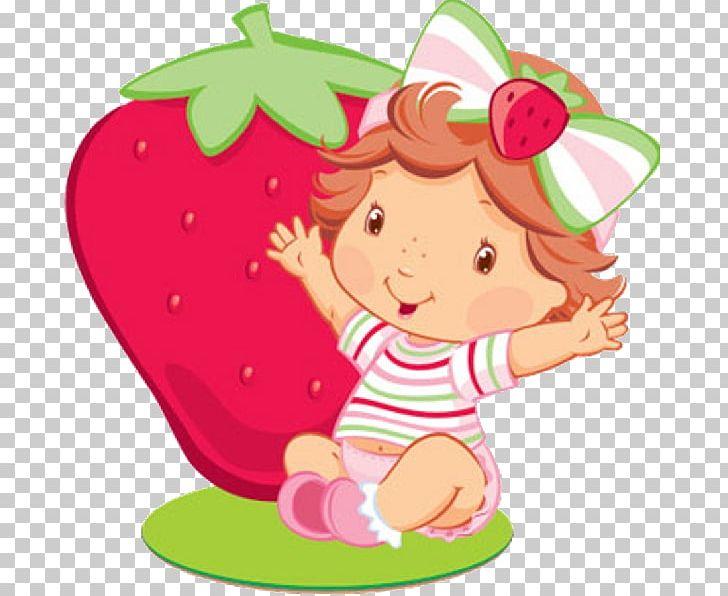 Strawberries clipart baby. Strawberry shortcake pie infant