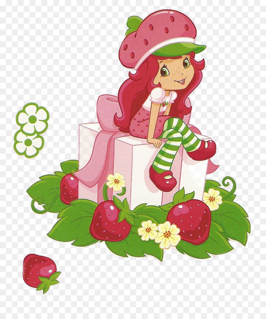 Strawberry shortcake cartoon . Strawberries clipart birthday