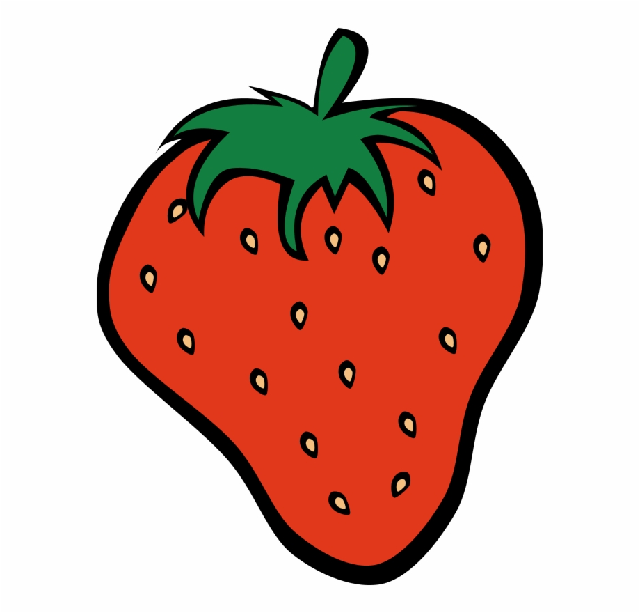 Pictures of fruit . Strawberries clipart cartoon