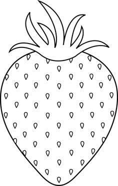 Strawberries clipart colour.  best strawberry coloring