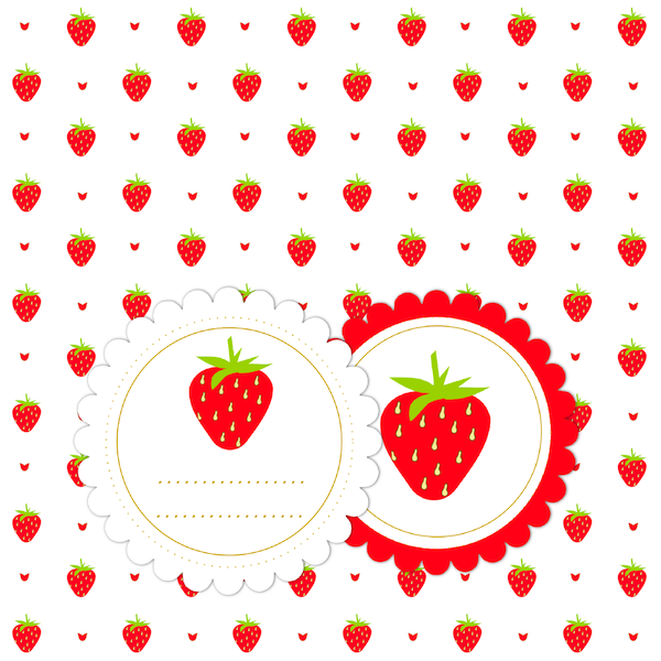 Strawberries clipart digital. Free pictures of download