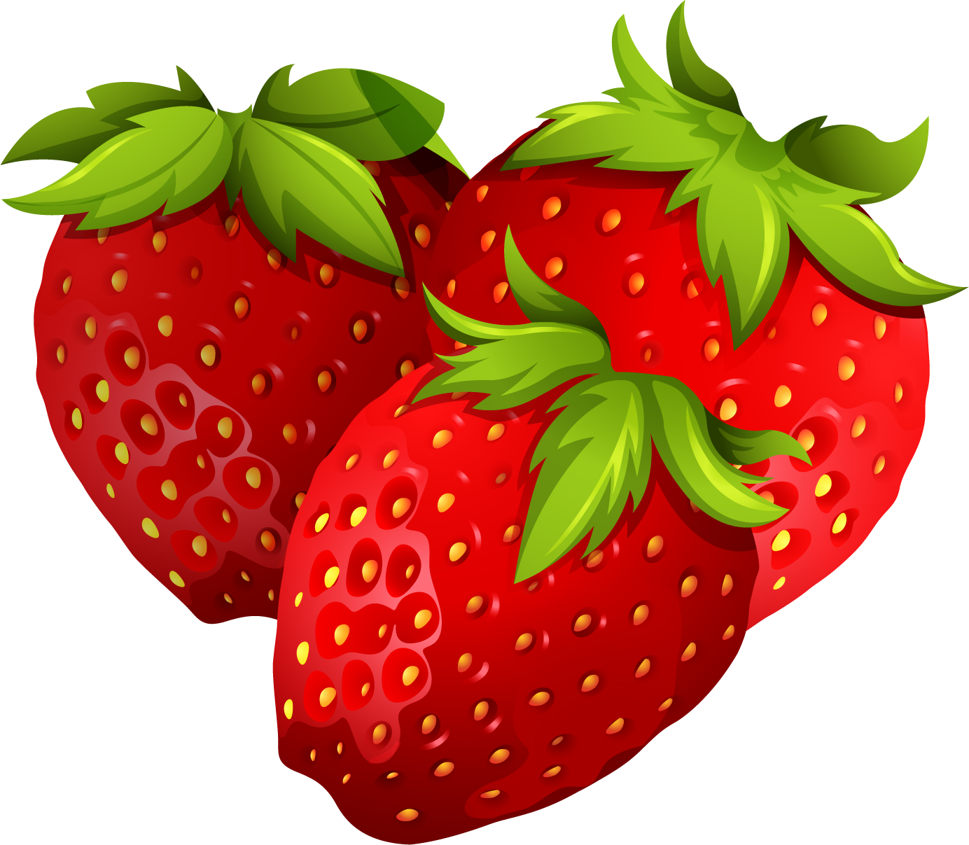 Strawberry png transparent free. Strawberries clipart draw