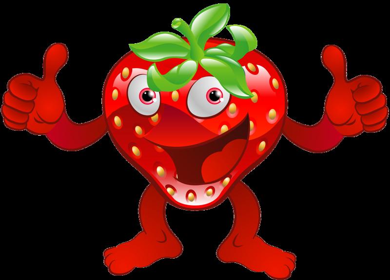 missis berina fruity. Strawberries clipart emoji