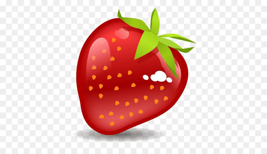 Strawberries clipart emoji. Iphone png download free