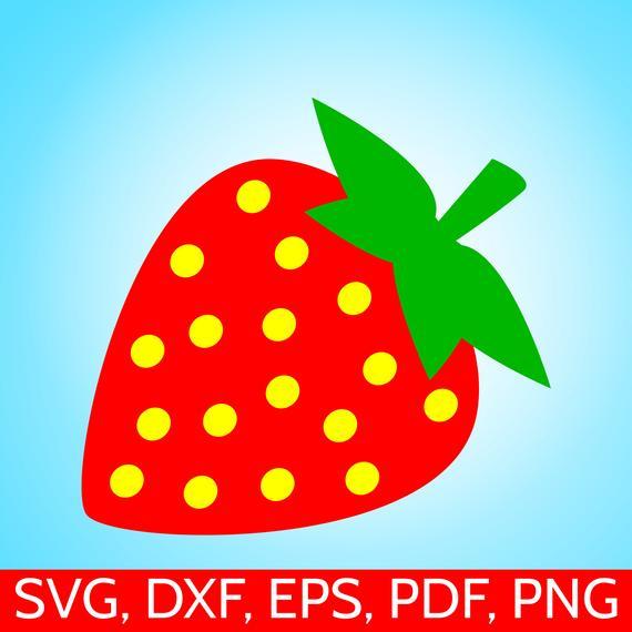 Strawberries clipart file. Strawberry svg for cricut