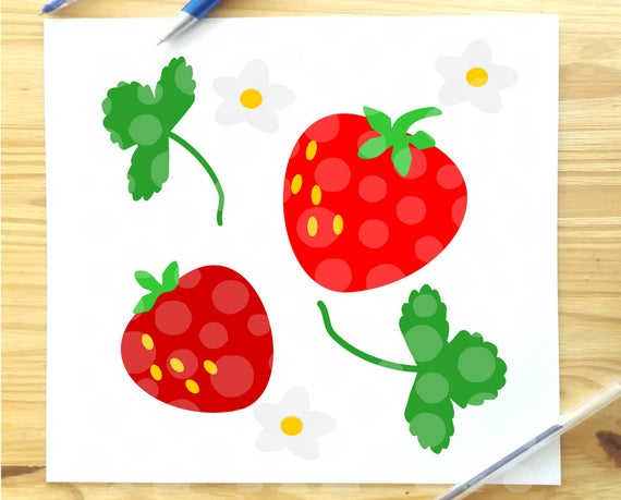 Strawberries clipart file. Svg berry cut strawberry