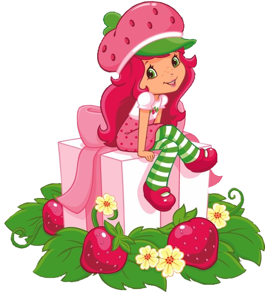 Strawberry shortcake wallpapers group. Strawberries clipart frame