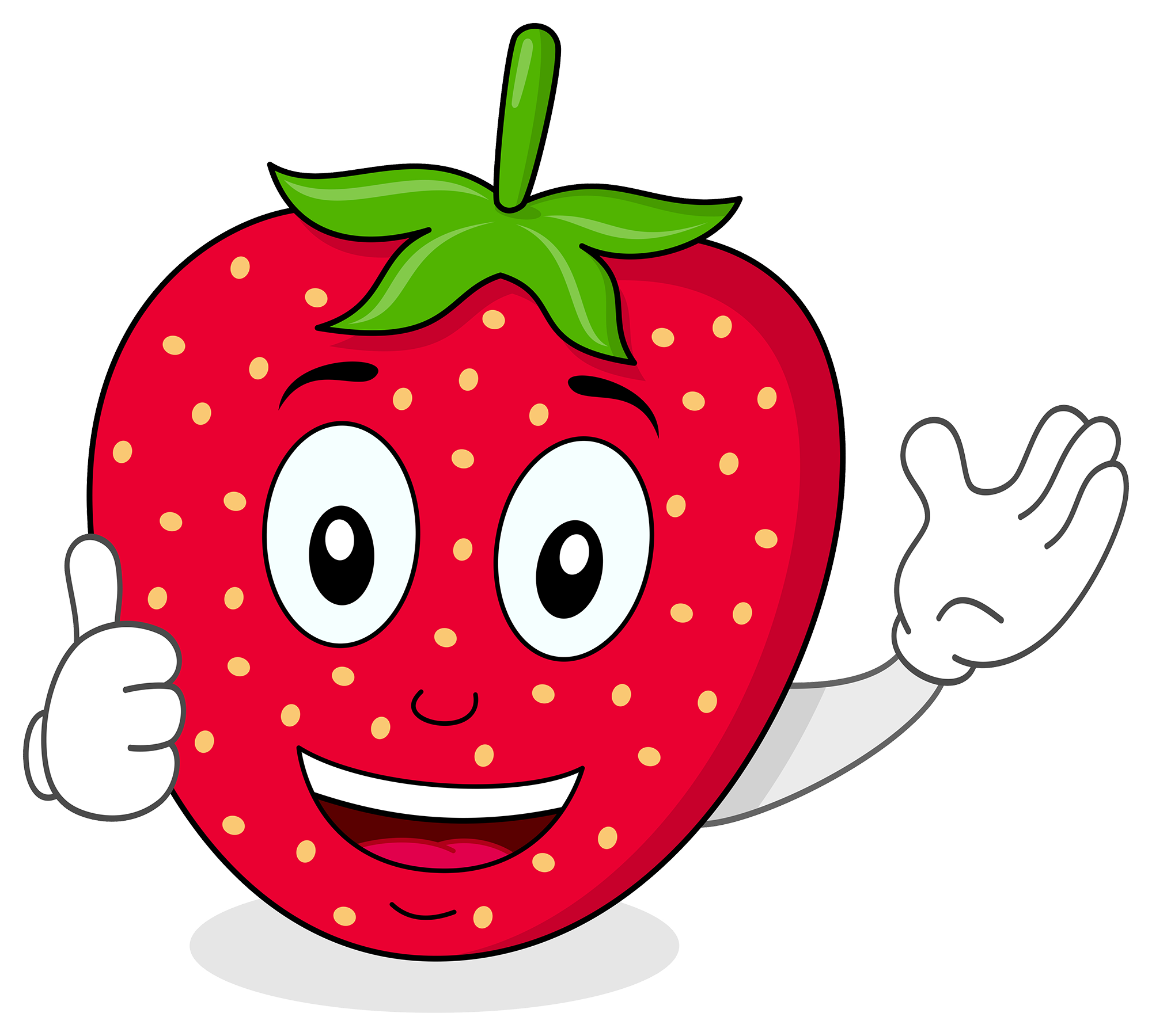Funtime fruits tasty healthy. Strawberries clipart fun fruit
