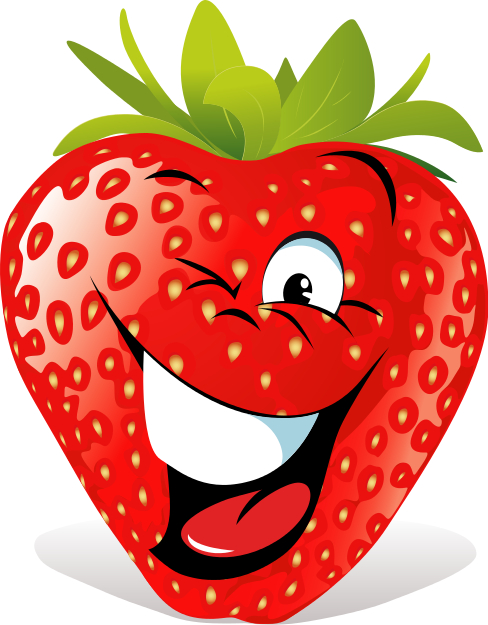 Strawberries clipart fun fruit. Pin by annarae gonzalez