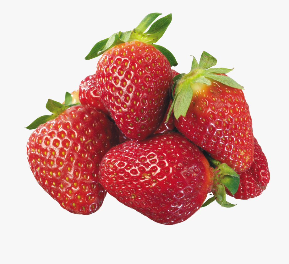 Face strawberry png free. Strawberries clipart gambar