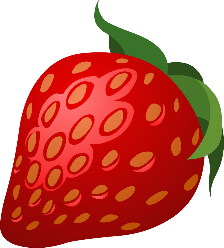 Strawberries clipart garden. Cute strawberry images clip
