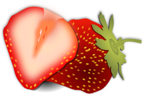 Strawberries clipart half. Free strawberry cliparts download