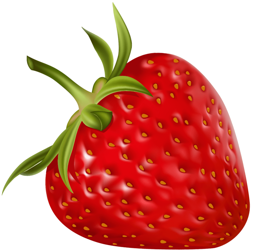 Strawberries clipart half. Strawberry png free images