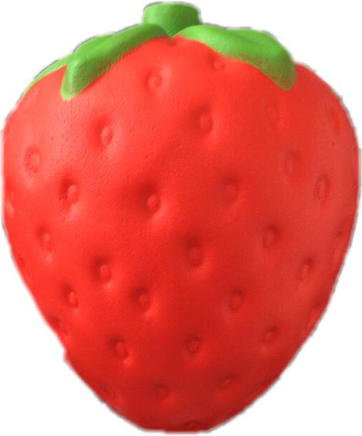Sticker cool strawberry squishy. Strawberries clipart juicy