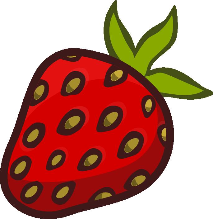 Strawberry fruit clip clipartandscrap. Strawberries clipart line art