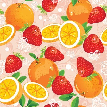 Free strawberry and vector. Strawberries clipart orange