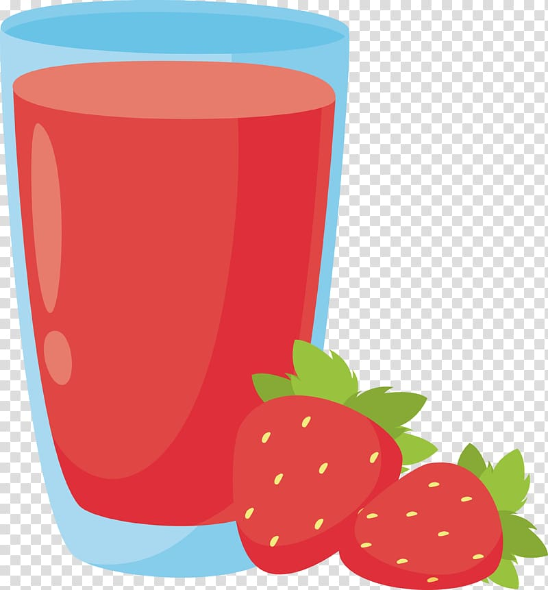 Two red strawberry fruits. Strawberries clipart orange