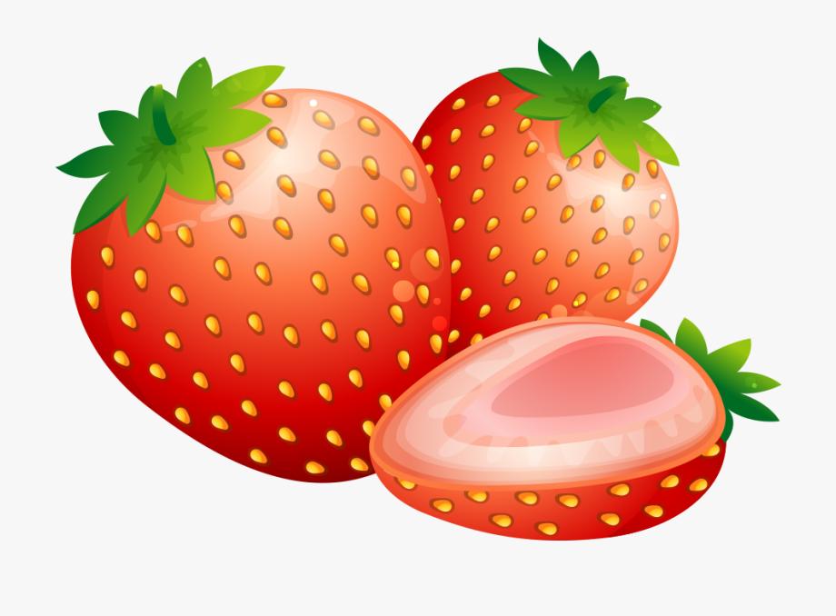Strawberries clipart orange.