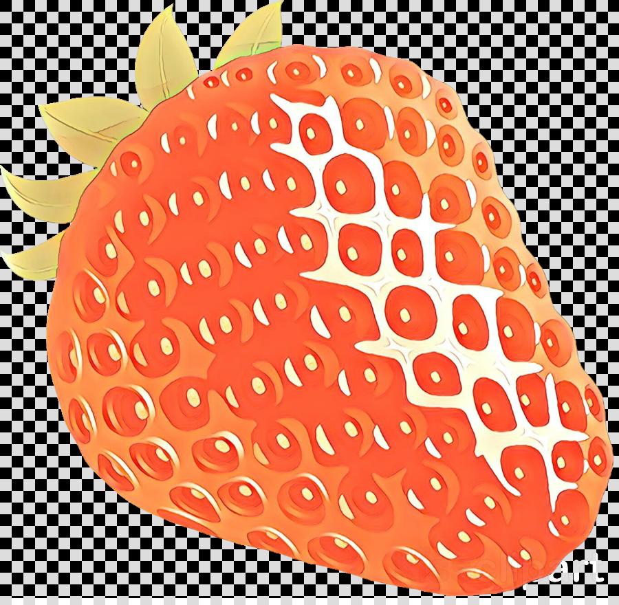 Strawberries clipart orange. Fruit strawberry transparent clip