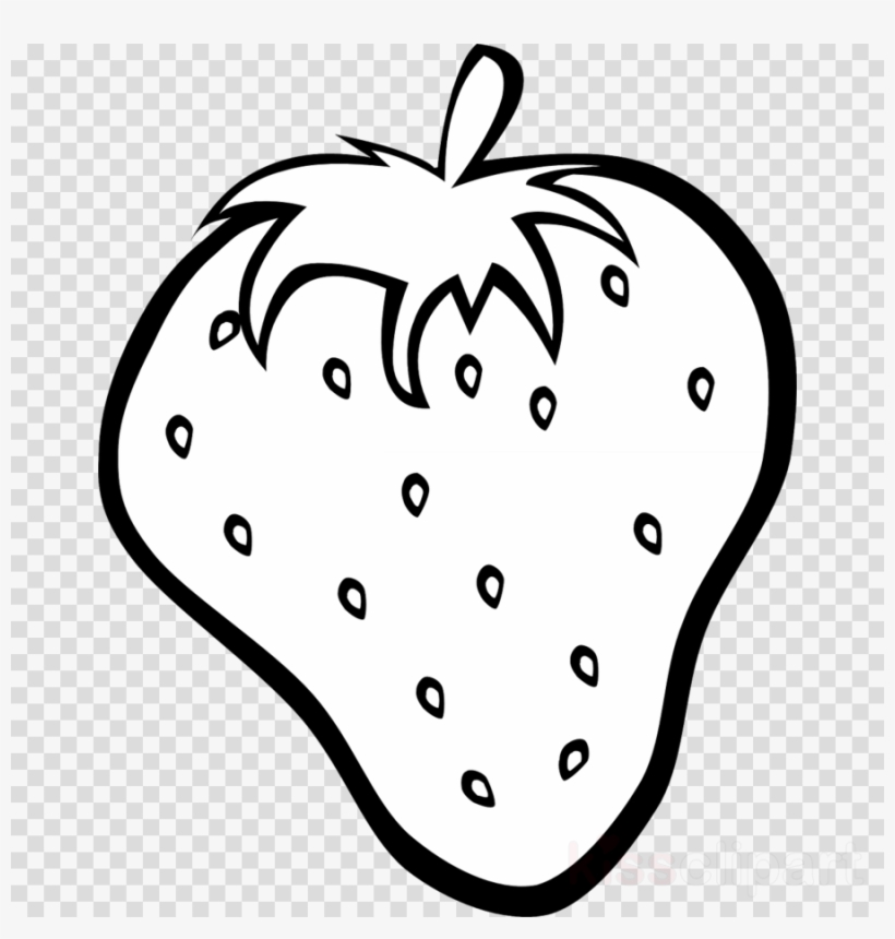Strawberry drawing clip little. Strawberries clipart outline