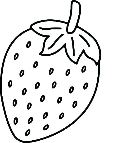 Strawberries clipart outline. Strawberry drawing free download