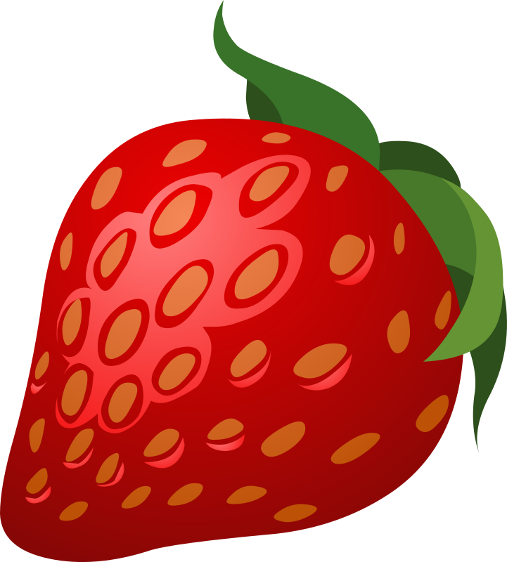 Strawberries clipart pdf. Food strawberry medium image