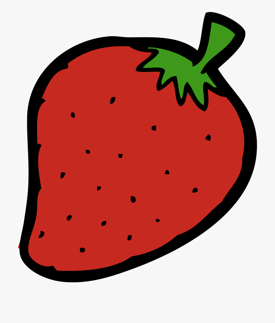Strawberries clipart pdf.  clip art strawberry