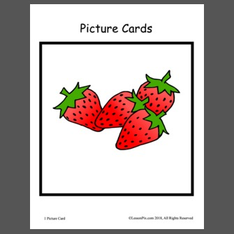 Story visuals . Strawberries clipart pete the cat