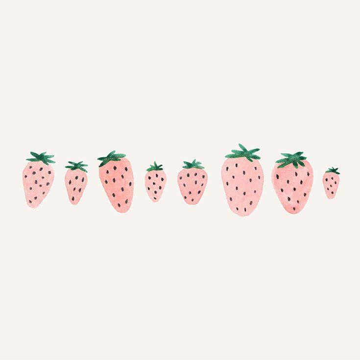 Strawberries clipart pink strawberry. Clip art watercolor