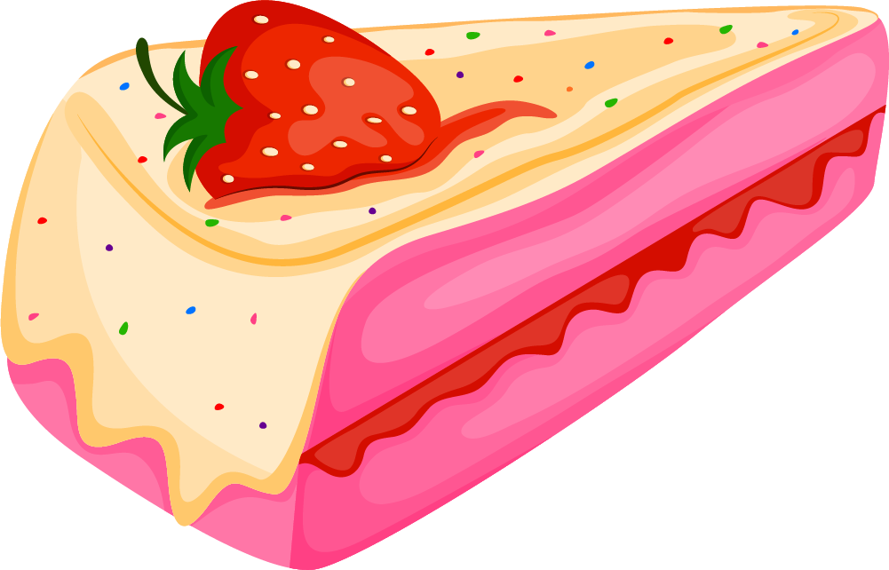 Cream cake transprent png. Strawberries clipart pink strawberry