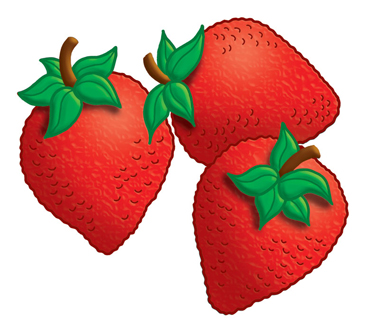 Strawberries clipart printable. Clip art and images