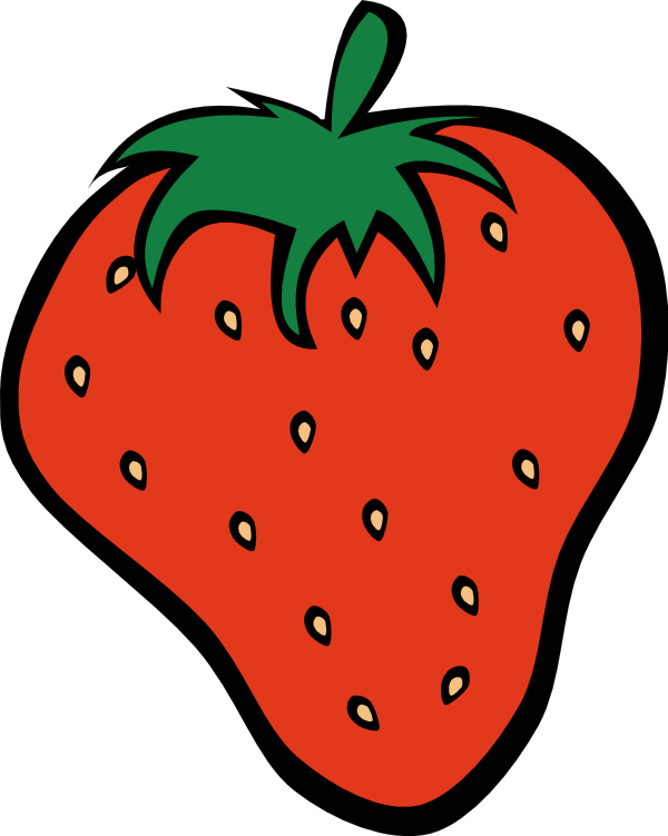 Strawberries clipart printable. Printables print raspberry strawberry