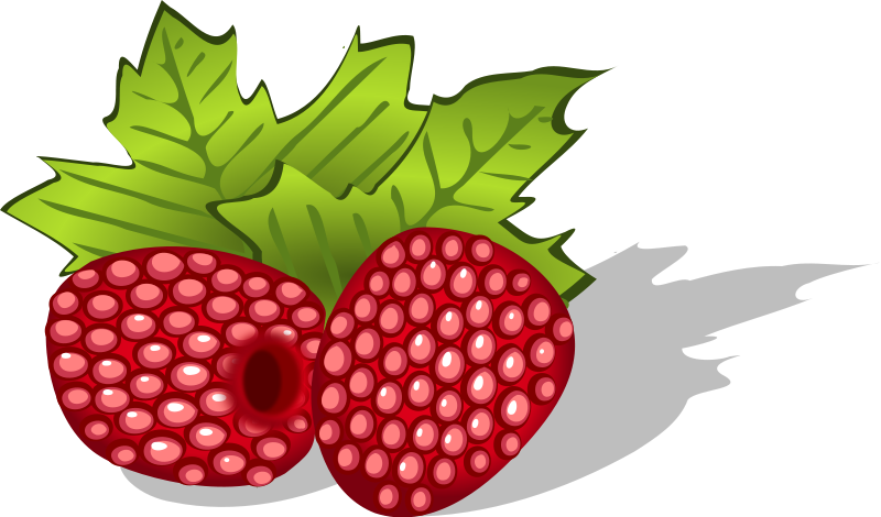 Panda free images raspberryclipart. Strawberries clipart raspberry
