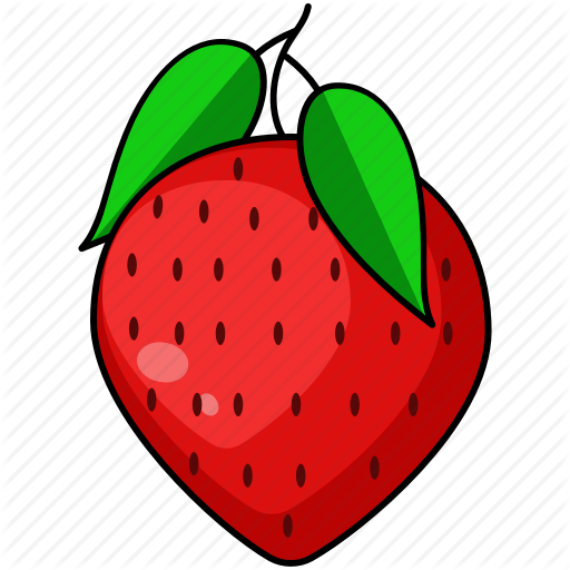 fruits vegetables by. Strawberries clipart red fruit vegetable