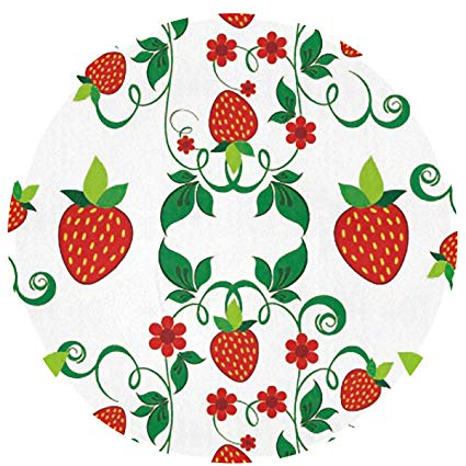 Amazon com feimao strawberry. Strawberries clipart round fruit