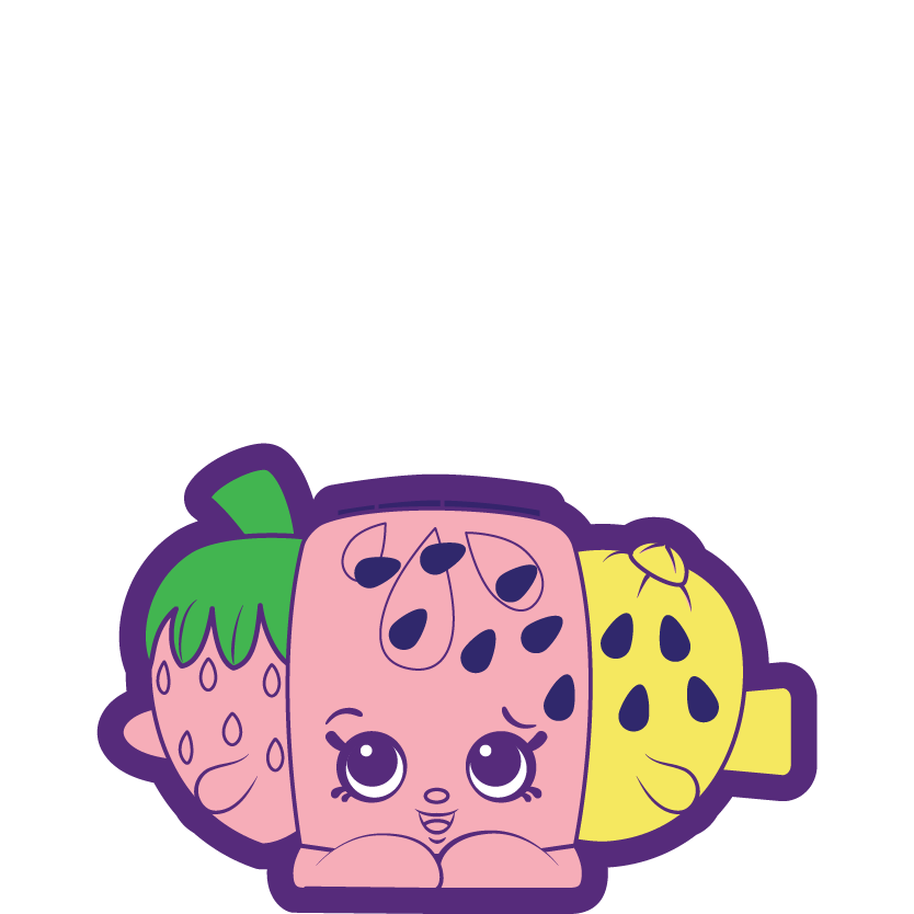 Strawberry kiss a common. Watermelon clipart shopkins