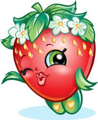 Strawberries clipart shopkins. Image result for kooky