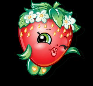 Strawberry free image . Strawberries clipart shopkins