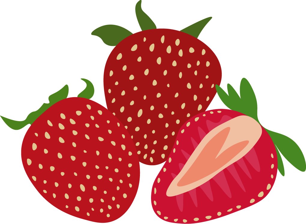 Strawberries clipart simple strawberry. Graphics lauren perry there