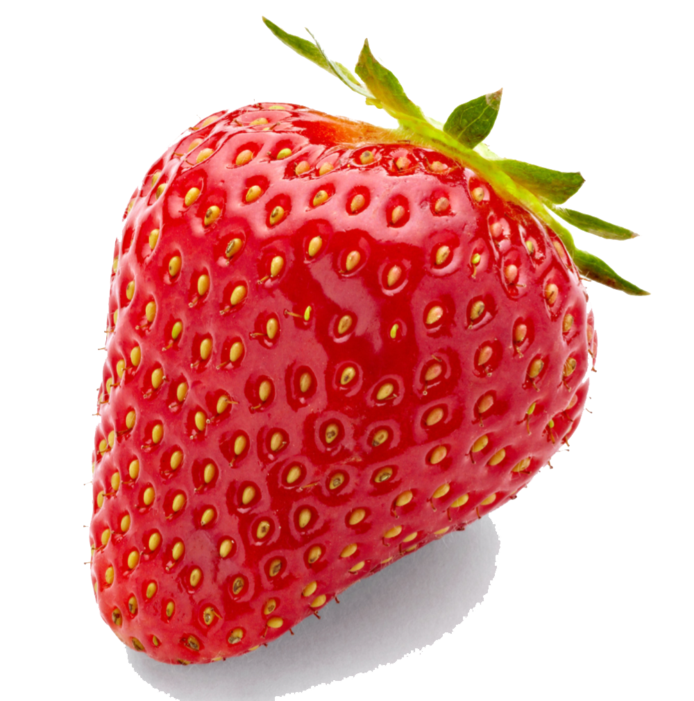 Png transparent free images. Strawberries clipart simple strawberry