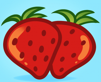 How to draw for. Strawberries clipart simple strawberry