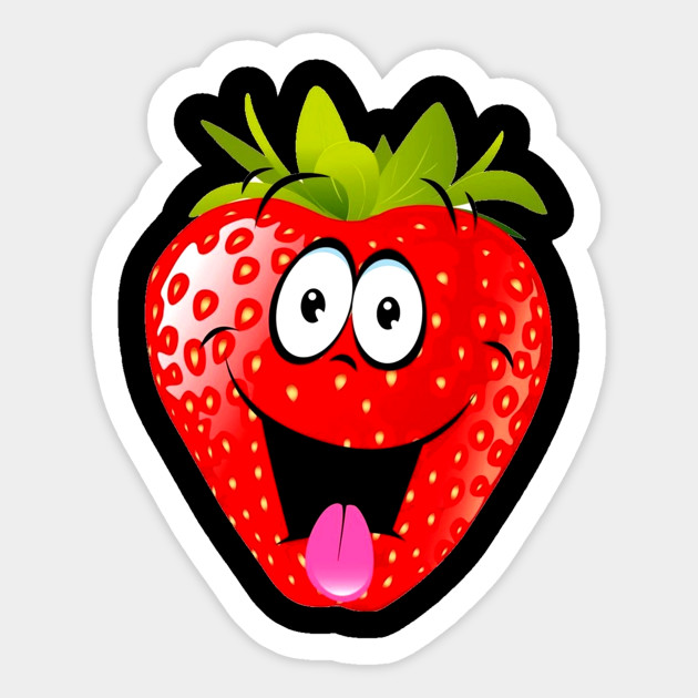Strawberries clipart smiley. Funny t shirt of