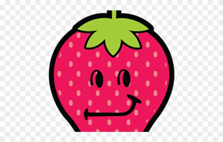 Strawberries clipart smiley. Smileys strawberry png download