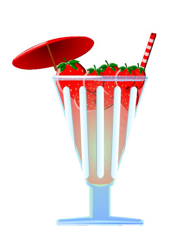 Strawberries clipart soda. Clipartist net clip art